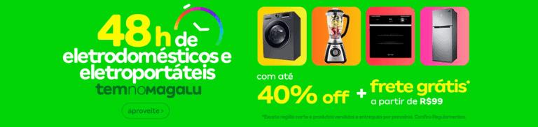 Eletrodomésticos com Frete Grátis | Semana do Brasil